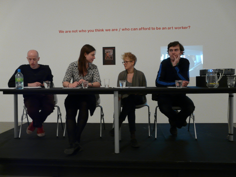 Panel debate as part of Lapdogs of the Bourgeoisie, Arnolfini, Bristol (2008)