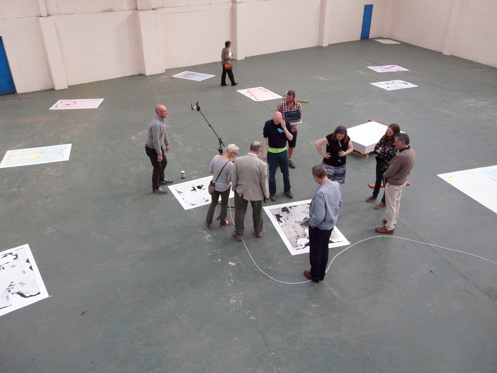 Performance Publishing: Regent Trading Estate (2013), Visitors to the space