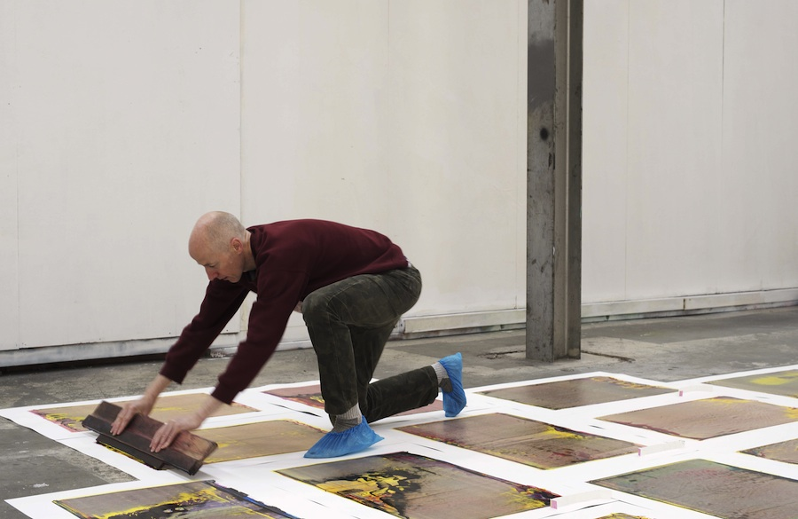 Performance Publishing: Excelsior Works, performance still. (Photo : Stephen Iles, 2015).