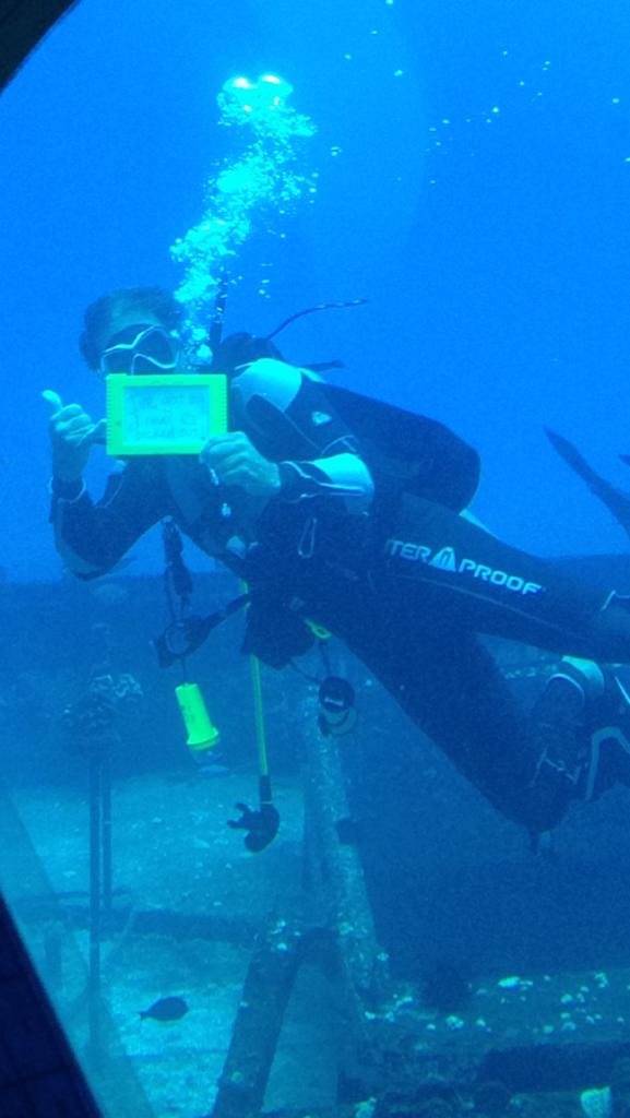submarine diver
