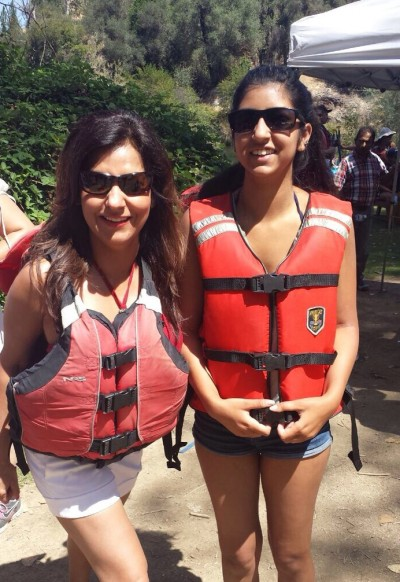 Rafting trip with Ghena