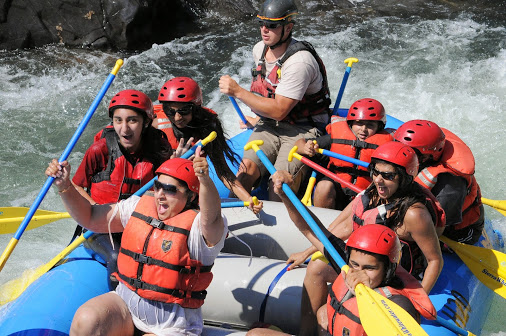 white water rafting Aug. 2014
