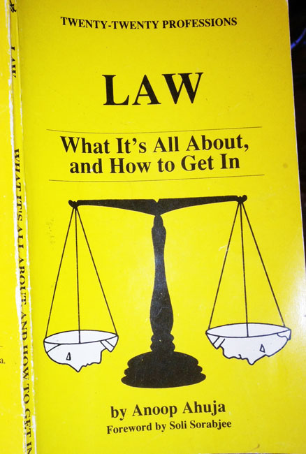 Law; What's it all About and How to Get In
