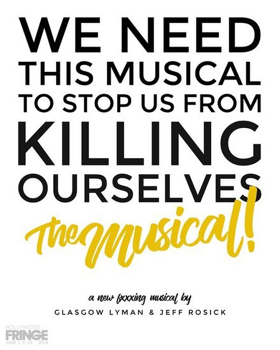 Anomalous' own @jeffrosick wrote and stars in an original #musical, playing as part of the @hollywoodfringe festival this June! Congrats Jeff, we can't wait! Be sure to catch it!  SYNOPSIS: We Need This Musical To Stop Us From Killing Ourselves follows Sarah, a struggling singer, and Mitchell, a failing actor, as they contemplate suicide. After some bargaining with their mutual therapist, the two find singular hope in a shared creative outlet in order to stay alive: putting on an original musical… with their therapist. Within only a few days, they create a show, but will they ever actually get to perform it? WNTMTSUFKO: The Musical is a dark comedy that celebrates friendships, musicals, and the bleakness of it all.  #drama #actor #acting #musical #musicaltheatre  #losangeles #theatre #latheatre #hollywood