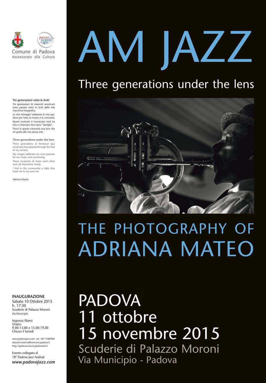 POSTER EXHIBIT FOR AM JAZZ at COMUNE DI PADOVA, MUSEO CIVICO, PADUA, ITALY  copy.jpg