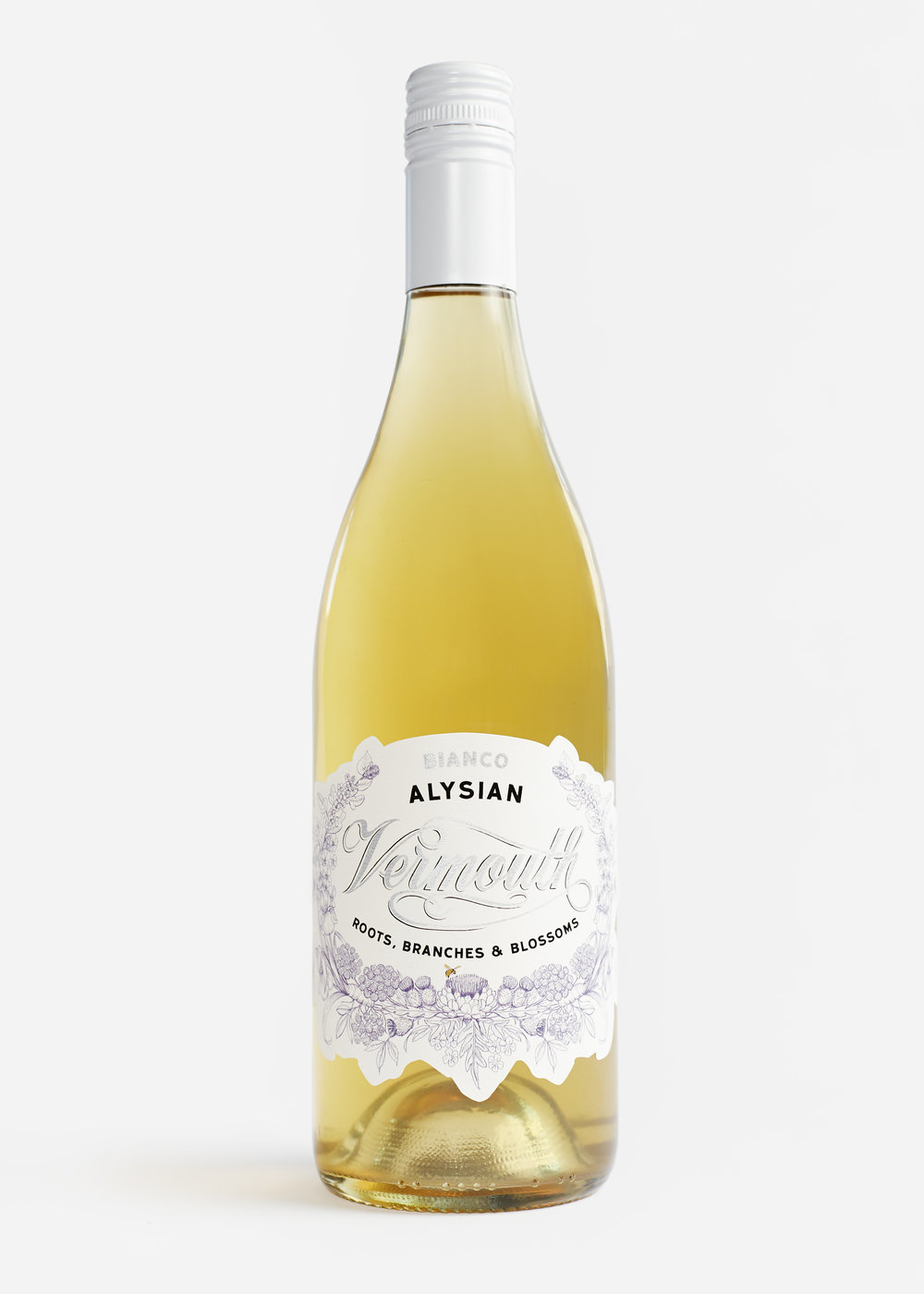 The Alysian Vermouth Bianco - True craft vermouth handmade in Sonoma County, California