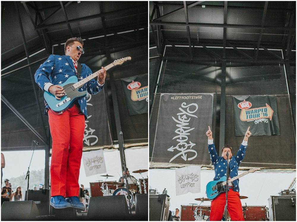 Less Than Jake | Warped Tour, Scranton PA | July 11, 2016