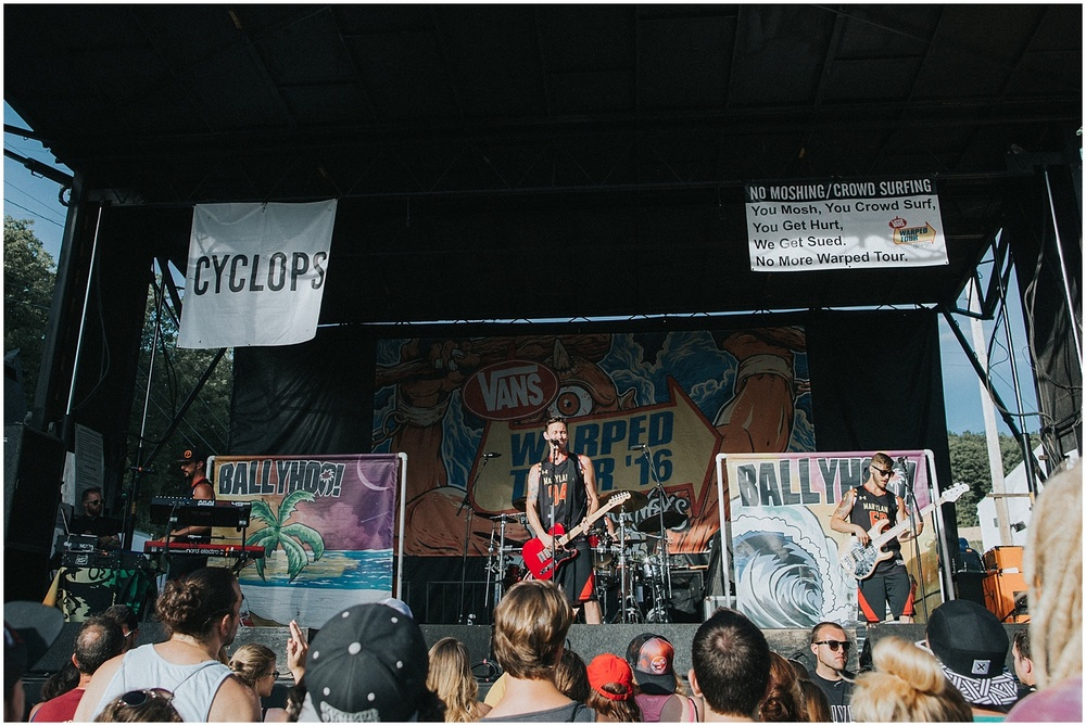 Ballyhoo! | Warped Tour, Scranton PA | July 11, 2016