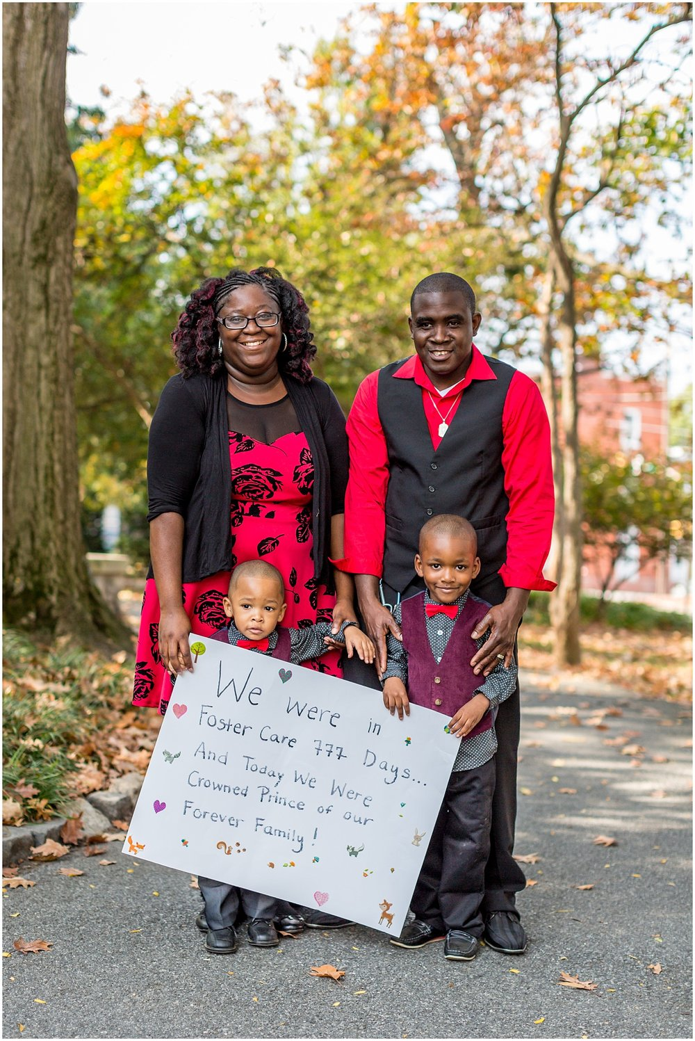 Berks County Adoption Family Photoshoot