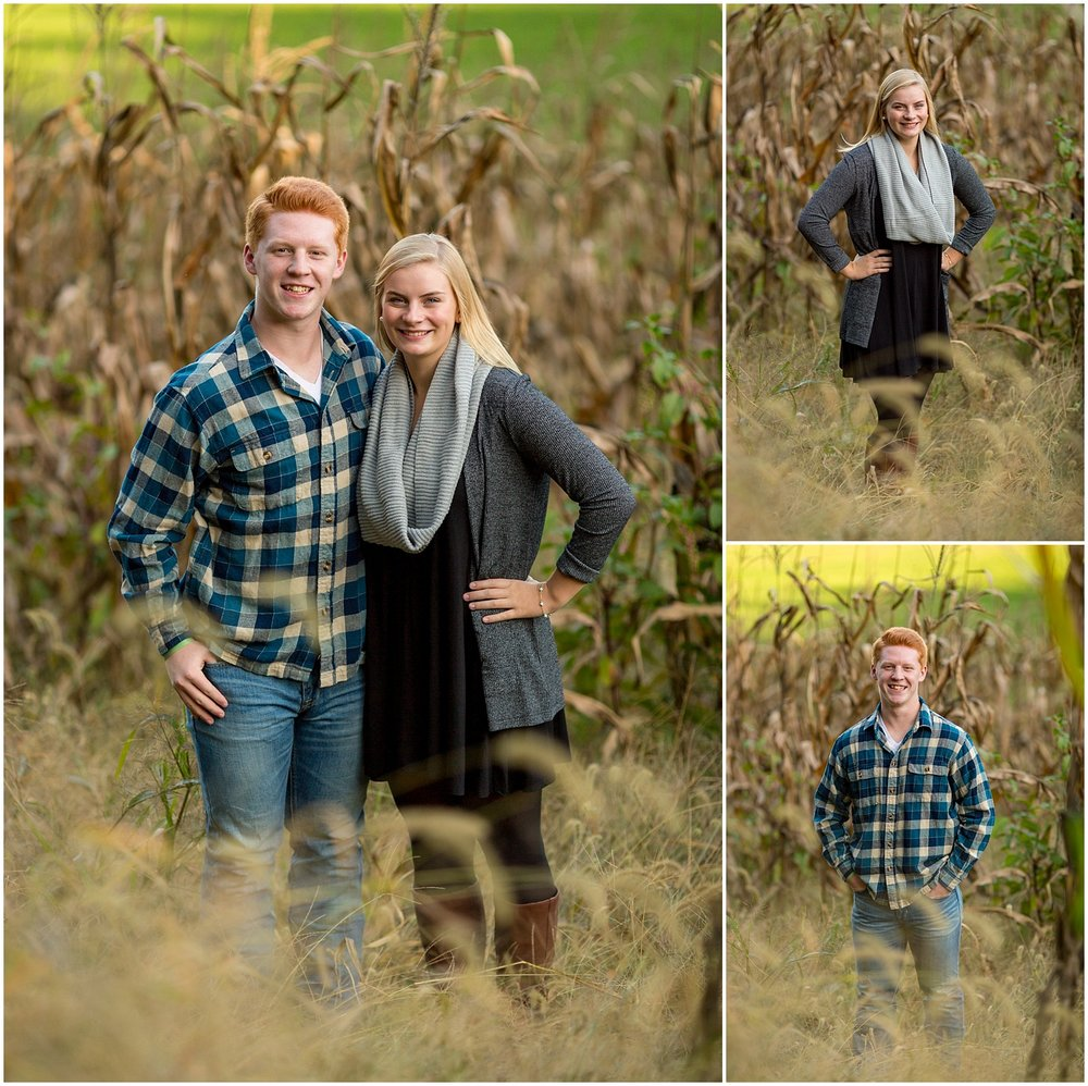 Berks County High School Senior Couple Photography