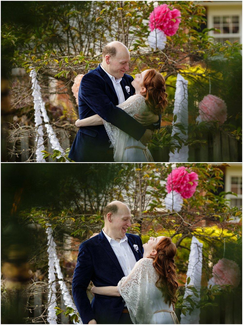 Berks County Pennsylvania Backyard DIY Wedding Photographer