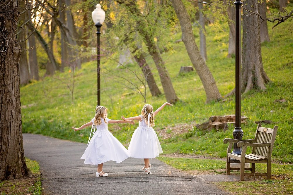 Wyomissing Pennsylvania First Communion Photoshoot