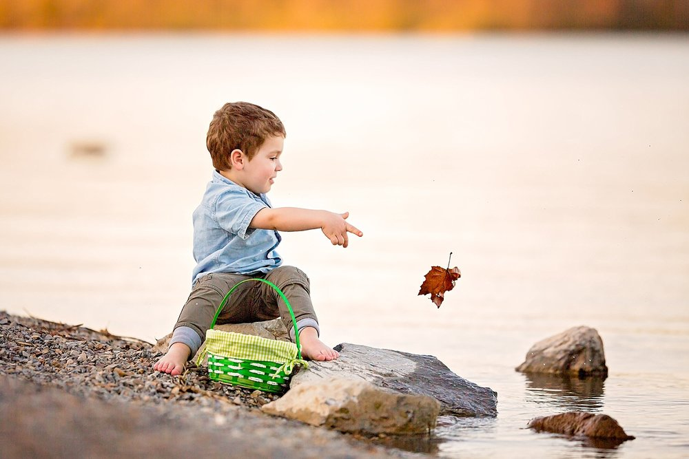 Blue Marsh Lake Berks County Child Photoshoot