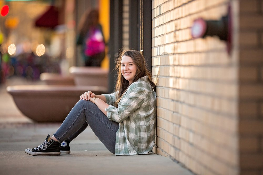 Fort Collins Colorado senior photoshoot