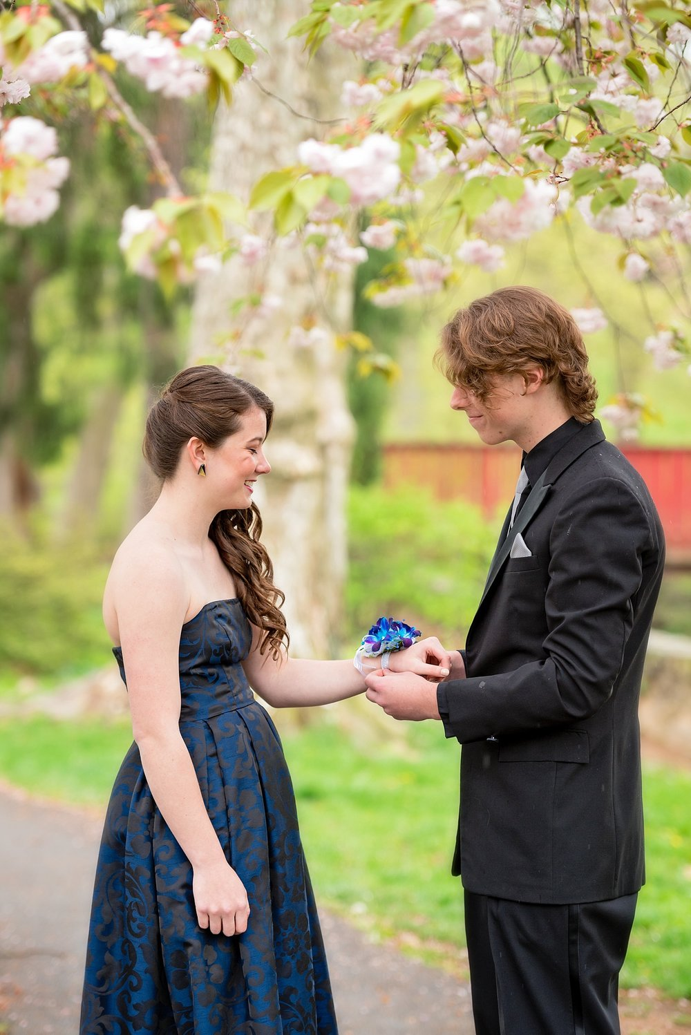 Reading Museum high school senior prom photoshoot
