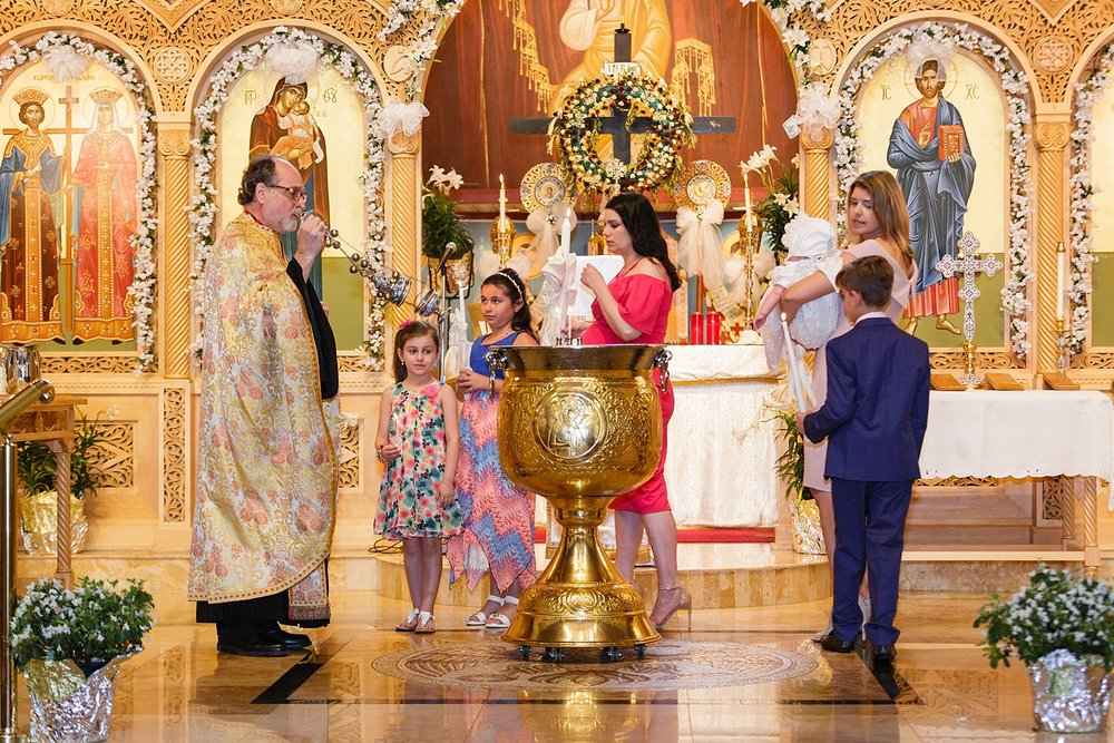 Berks County Saints Constantine and Helen Greek Orthodox Church baptism