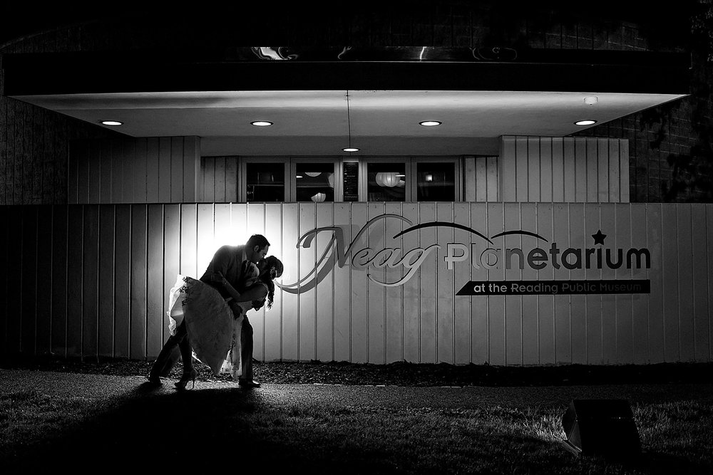 Reading Museum Planetarium Wyomissing Pennsylvania Wedding Photographer
