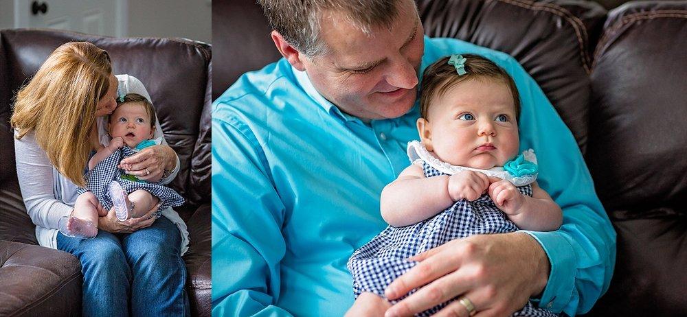 Philadelphia in-home lifestyle newborn photographer
