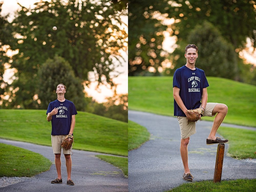 Camp Hill Harrisburg Senior Portrait Photographer