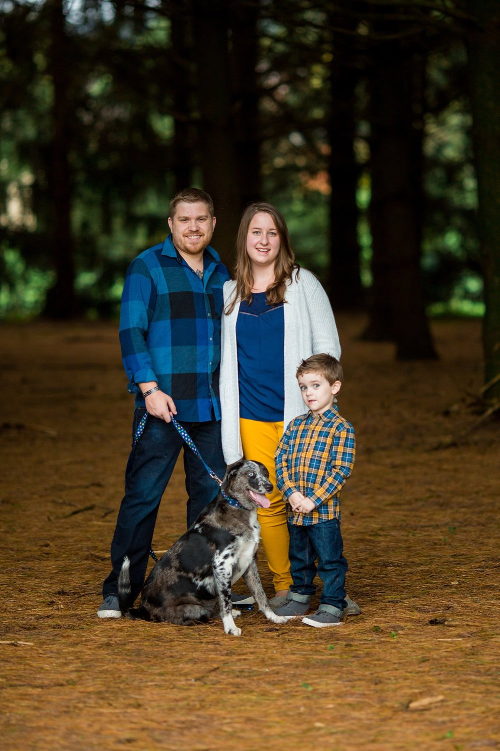 Highlands Wyomissing Fall Family Photoshoot