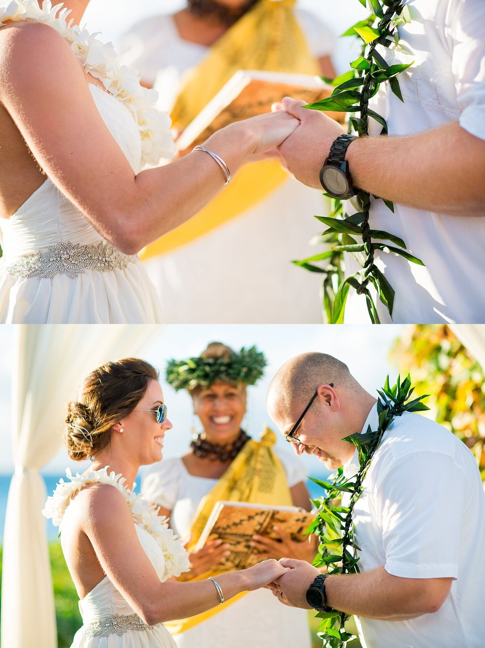 Westin Ka'Anapali Maui destination beach wedding photographer