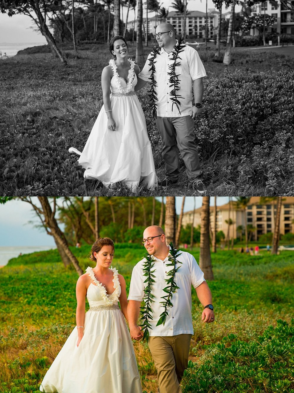 Westin Ka'Anapali Maui destination beach wedding photographer sunset