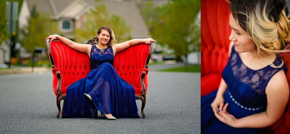 Wilson High School Prom Photographer Berks County Wyomissing Pennsylvania