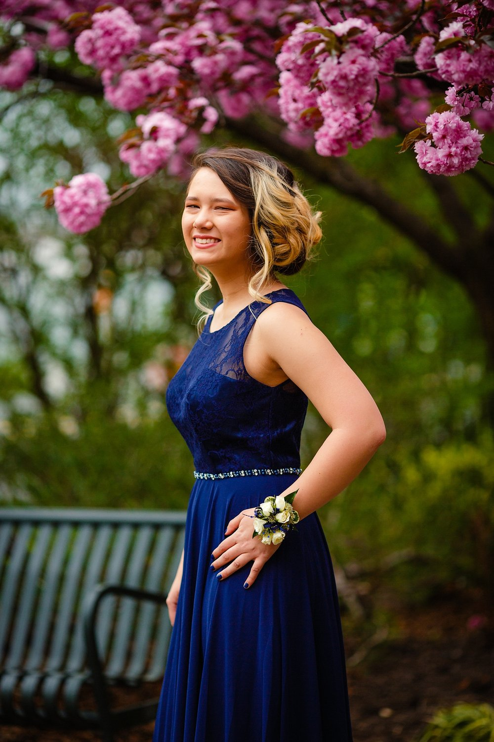 Wilson High School Prom Photographer Berks County Wyomissing Pennsylvania Stoudtburg Village