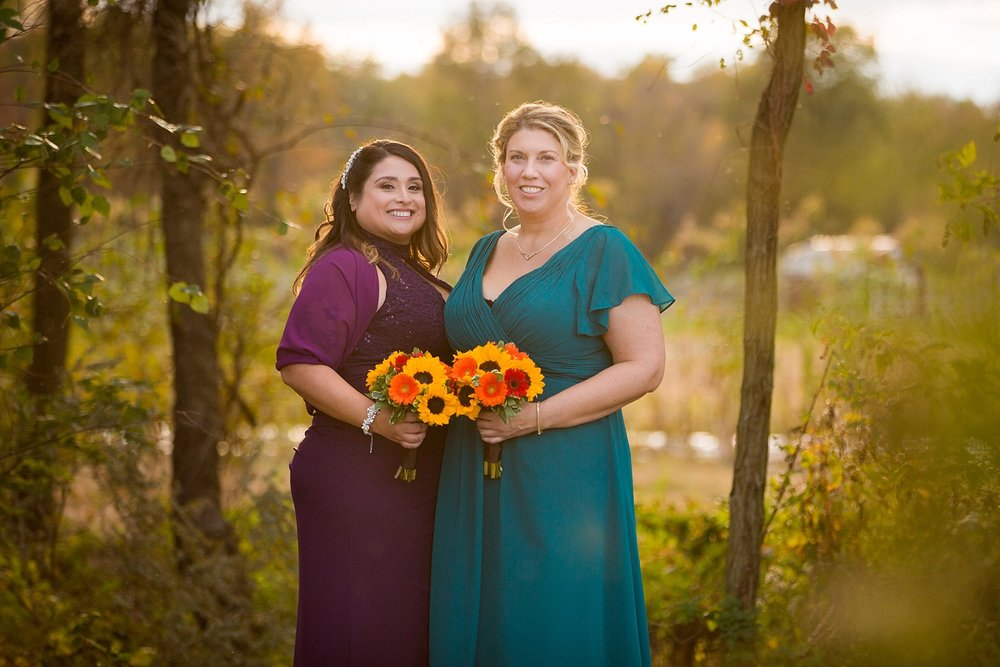 Cecil Creek Farm New Jersey fall same sex wedding photographer