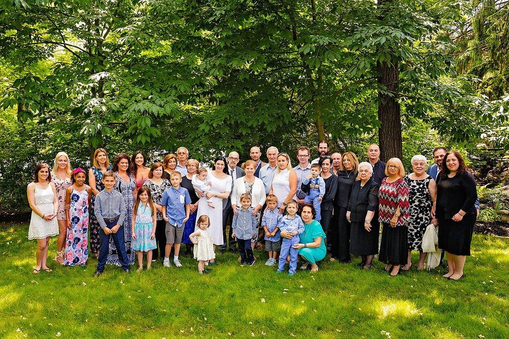 Wyomissing Reading Pennsylvania Greek Orthodox baptism first birthday photographer