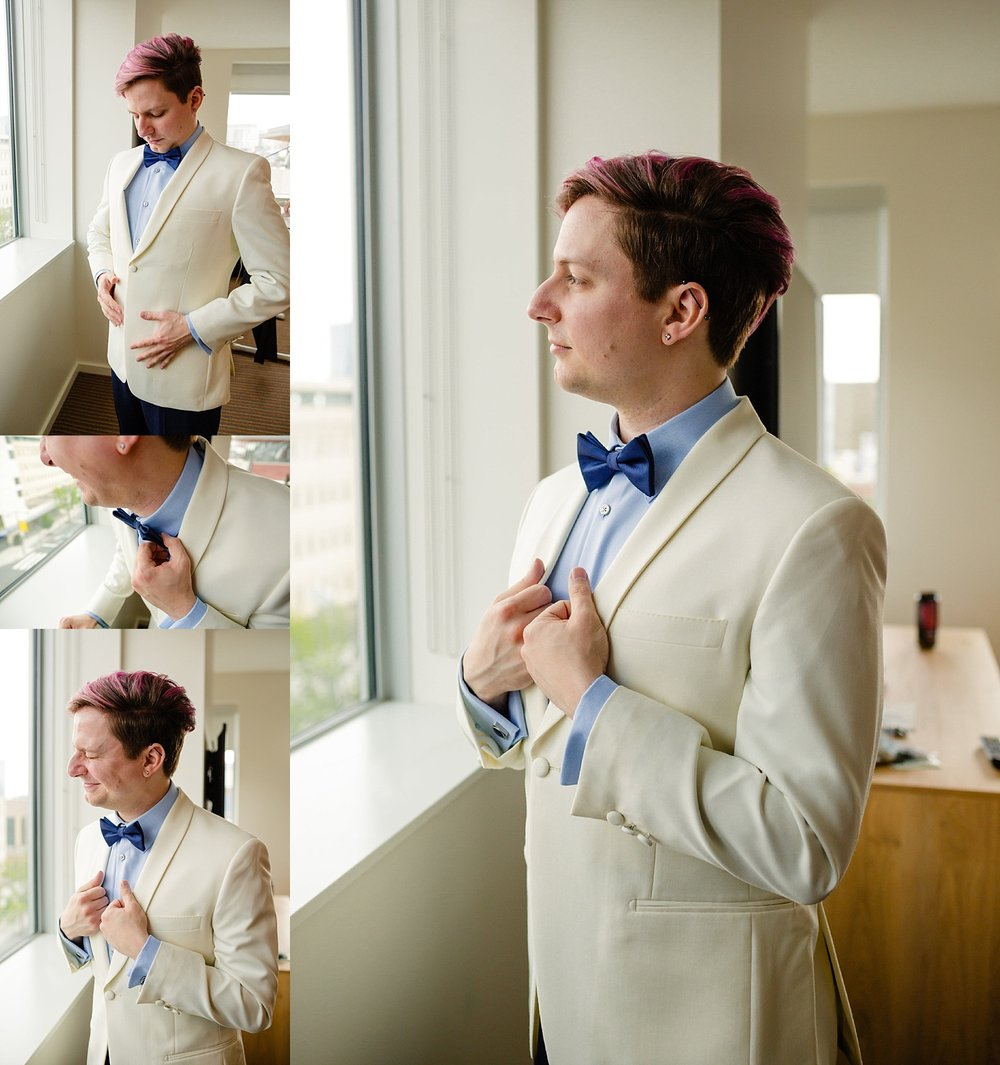 World Cafe Live Philadelphia gay queer LGBTQIA wedding photographer