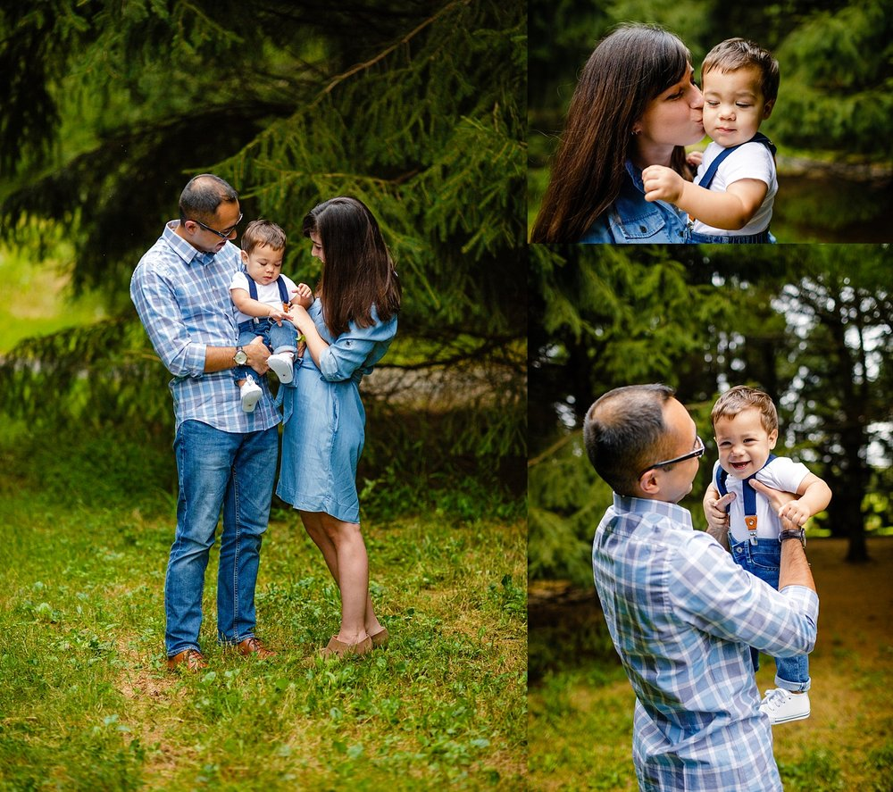 Wyomissing Park Highlands fall family photoshoot session Berks County photographer
