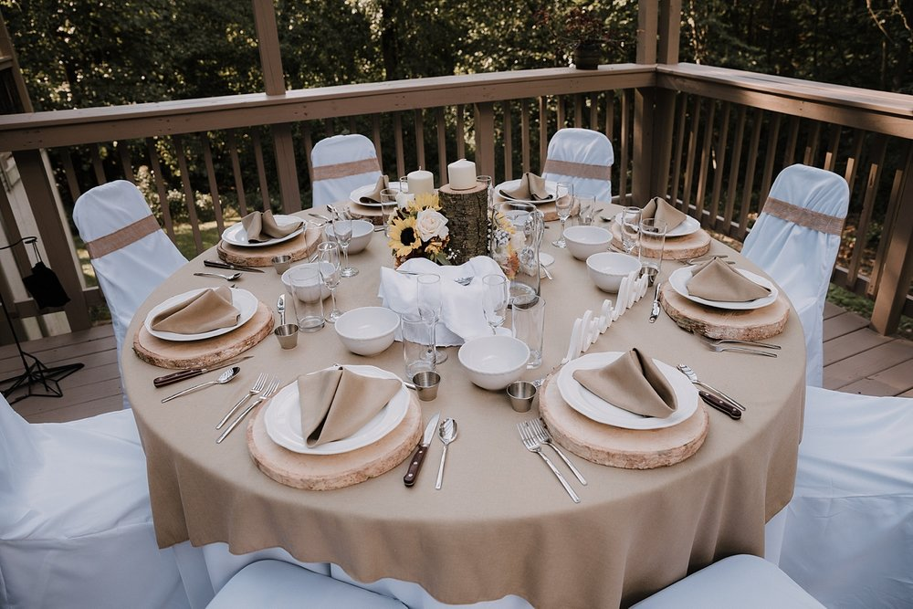 Lehigh Valley Alburtis Pennsylvania rustic intimate backyard wedding photographer