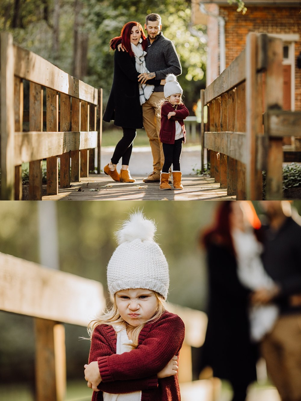 Lock Ridge Park Lehigh Valley Family Couple Child Photographer fall session