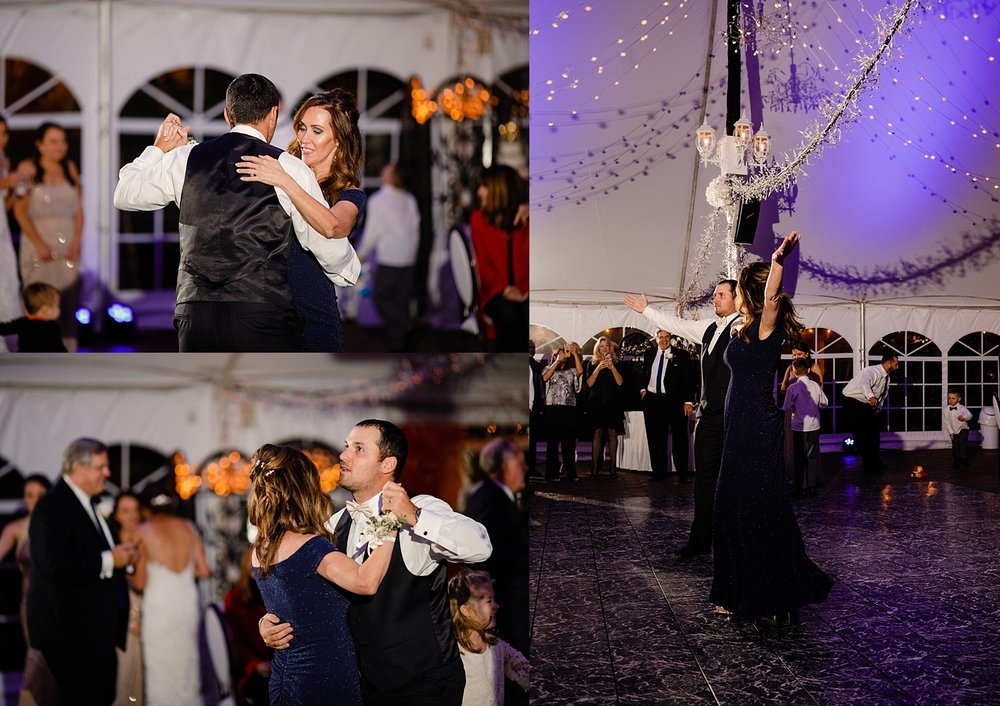 Chester Wedding Photographer Pennsylvania Meredith Manor autumn reception