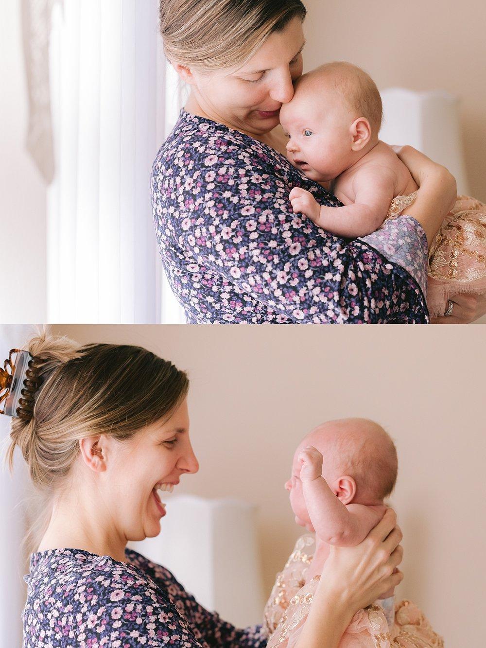 Berks County Pennsylvania lifestyle newborn family photographer