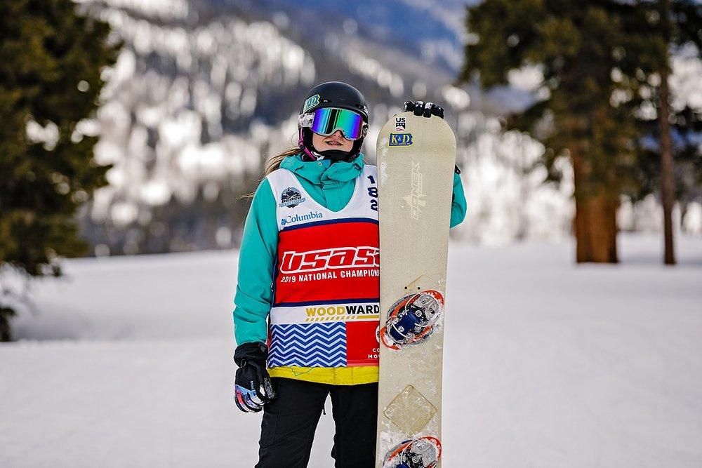 Copper Mountain Breckenridge Colorado senior portrait destination snowboard photographer