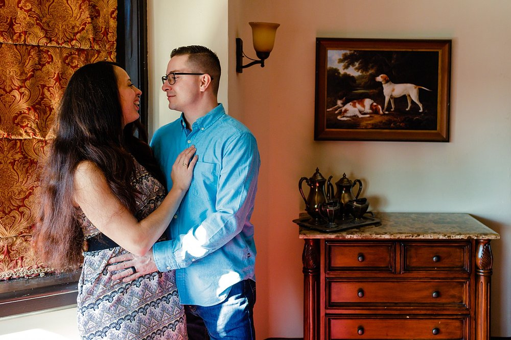 Stokesay Castle Reading Pennsylvania Berks County wedding engagement photographer