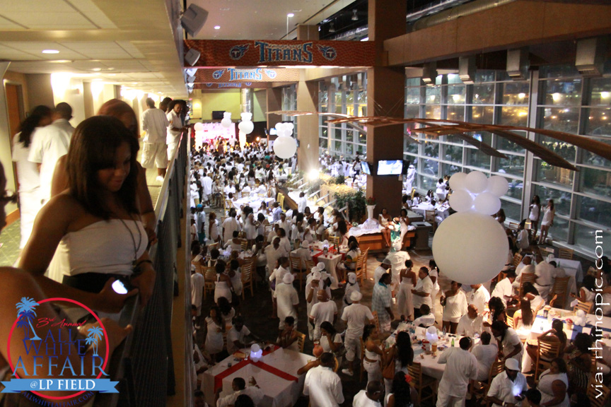 3RD ALL WHITE AFFAIR [ 2011 ] ~  LP Field