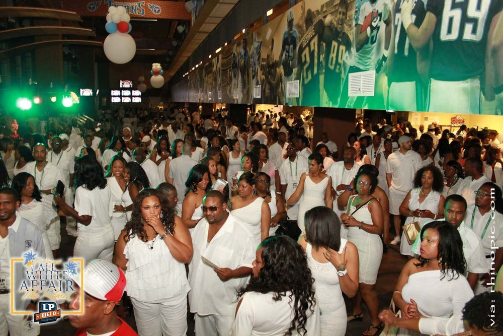 4TH ANNUAL ALL WHITE AFFAIR [ 2012 ] ~  LP Field