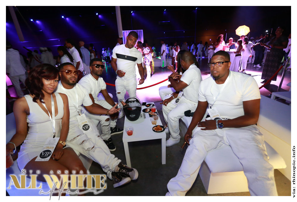 8TH ANNUAL ALL WHITE AFFAIR [ 2016 ] ~ Oz