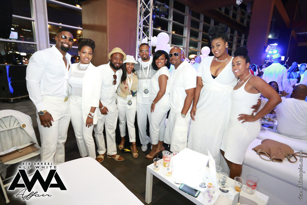 9th Annual All White Affair - Saturday, July 15, 2017 @ Nissan Stadium