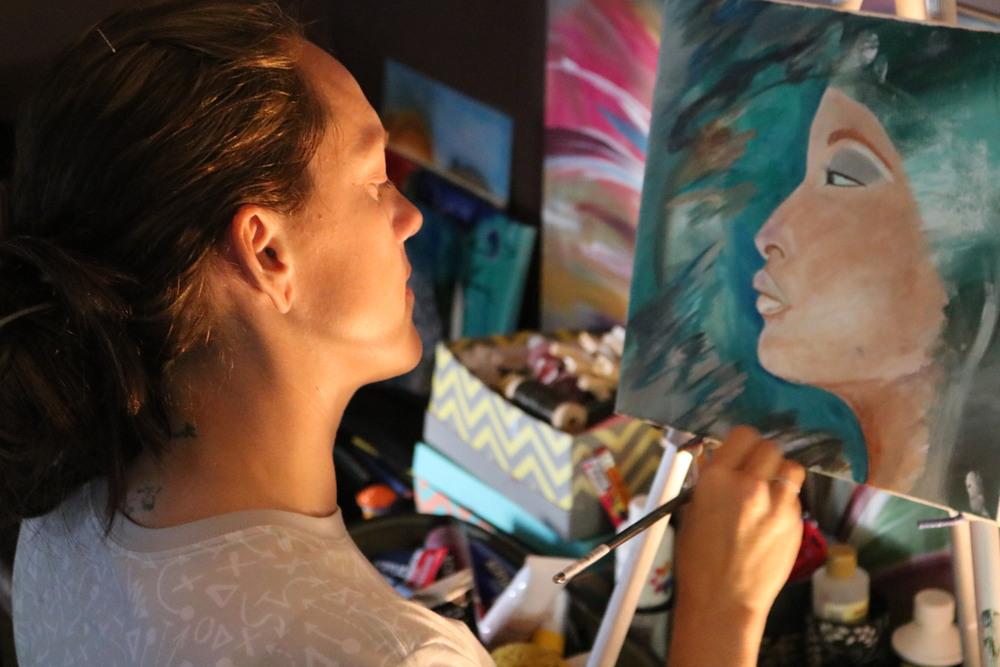 Sadie's studio