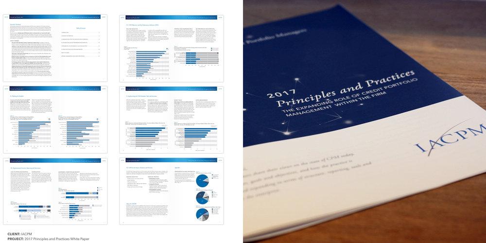 2017 Principles & Practices White Paper  CLIENT:  IACPM