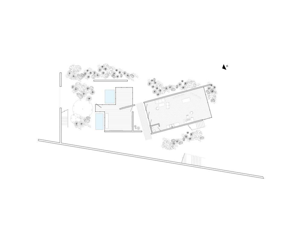 Floor -04   (minus four), studio, courtyard level