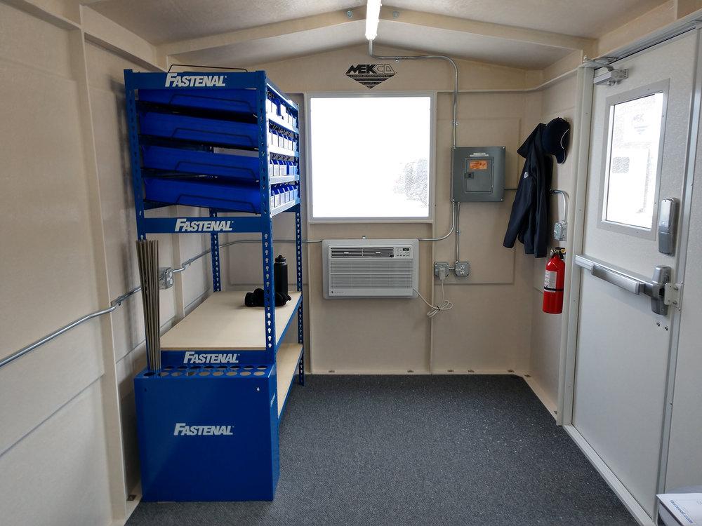 Mekco Onsite System - Interior Storage