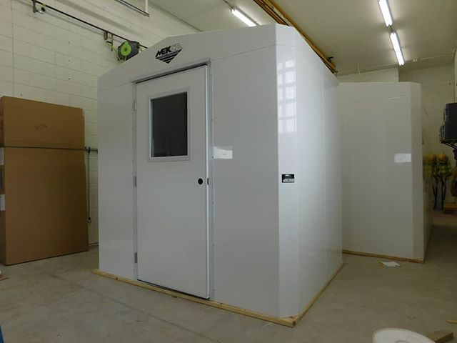 6' x 8' x 7'4 Standard Building with basic electrical and AC unit.  #mekco #mekcofiberglass #mekcocustom #mekcofrp #fiberglass #wastewater #watertreatment #wastewatertreatment #frpstructures #frpenclosure #frpbuilding #madeinwisconsin #madeinwis #madeinamerica