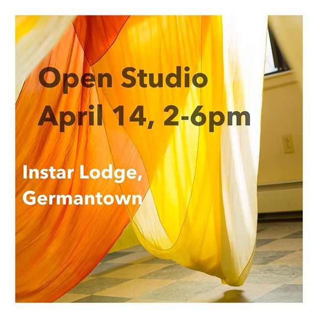 Spring is creeping in and it feels like the right time to throw open my studio door! Come see what's been going on at @instarlodge Sunday, April 14th. Oh and bonus @gleamer.studio sale ;)