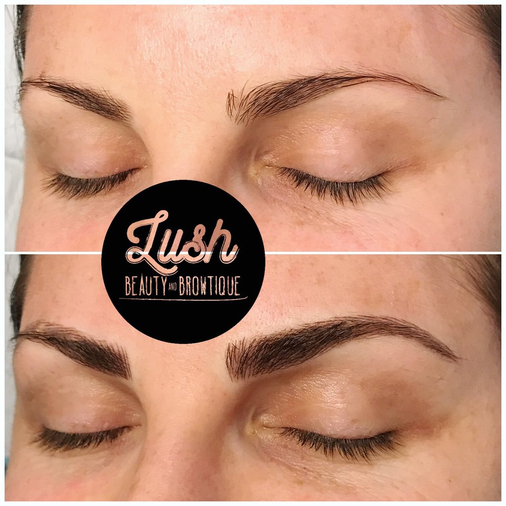 Lush Beauty Browtique Portfolio