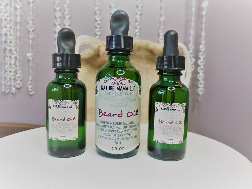 Organic Beard Oil with CBD Oil